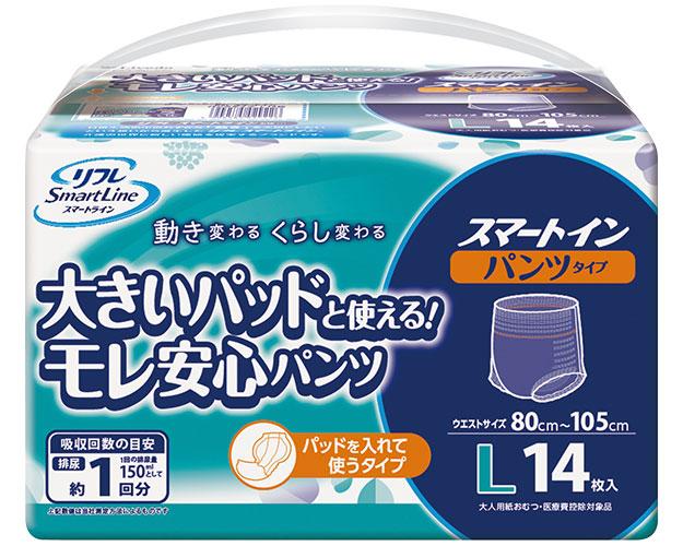 スマートイン パンツタイプ L / 17172 14枚×8袋 1ケース (ケース販売)