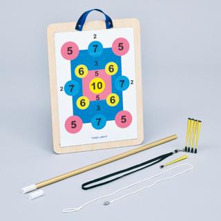 マグネット吹き矢 / B-2303 介護用品 屋内用 レクリエーション