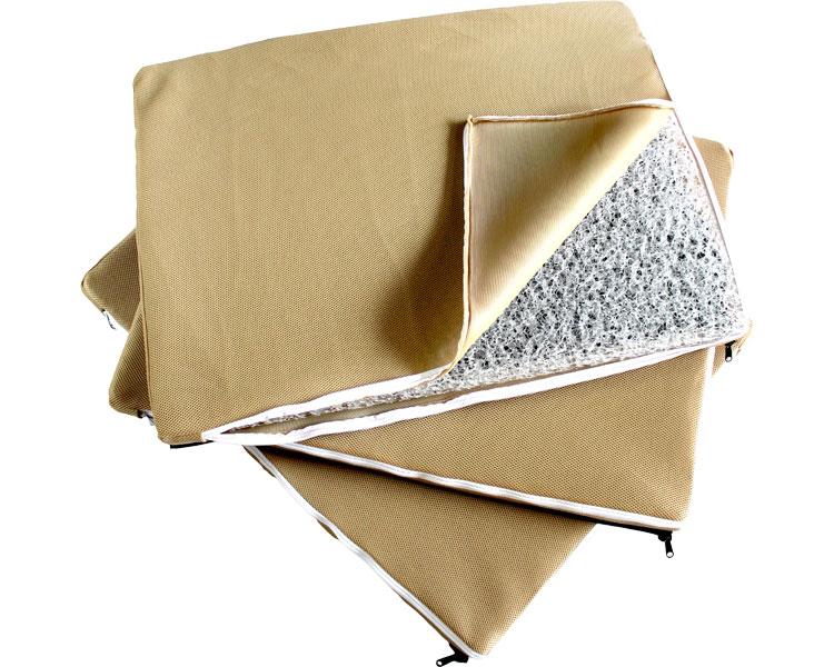 丸洗いできるマットレス クロッツエアマットレス 三つ折りセパレート 幅83cm×長さ189cm 介護用品