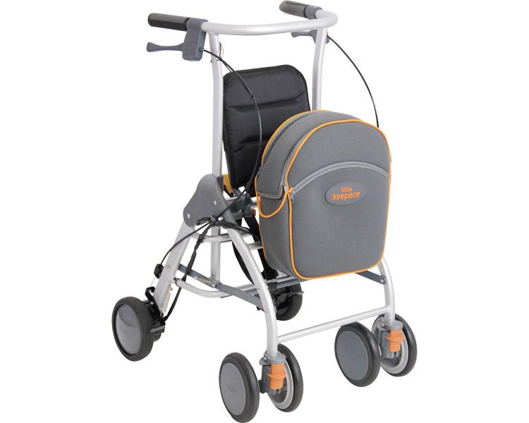 在庫限り 歩行器 リトルキーパスS 歩行車 リハビリ 歩行補助 高齢者用