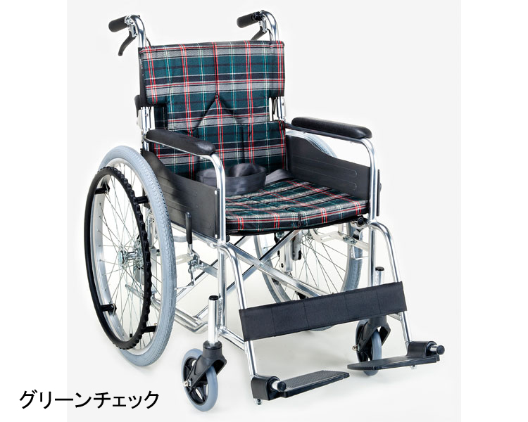 アルミ自走車いす 自走用スタンダードモジュール車椅子 マキテック hkz