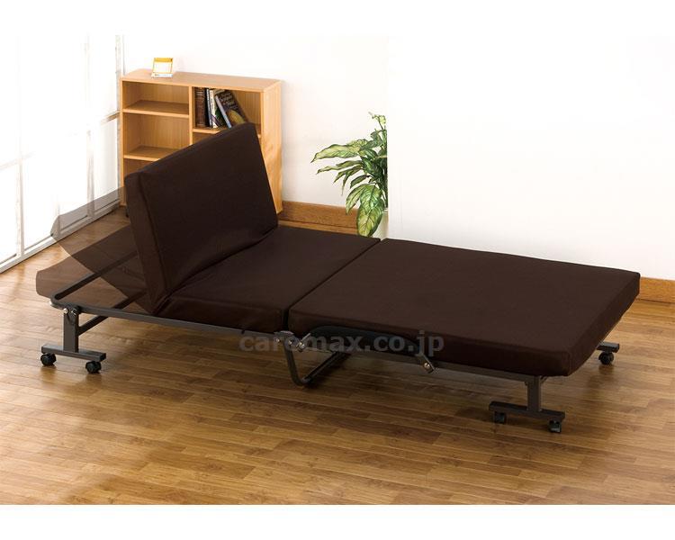 折りたたみ式リクライニングベッド BED-2000BR