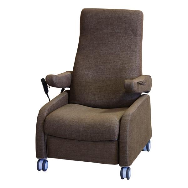 リクライニング 電動昇降チェア すずらん 椅子 電動昇降座椅子 電動昇降イス 立ち上がり補助いす