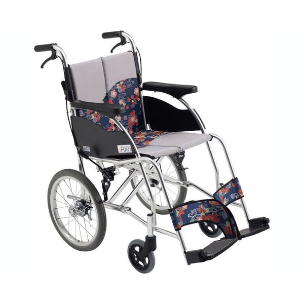 自走型車いす MPR-1Hi 座幅40cm ミキ 車椅子 介護用品 hkz