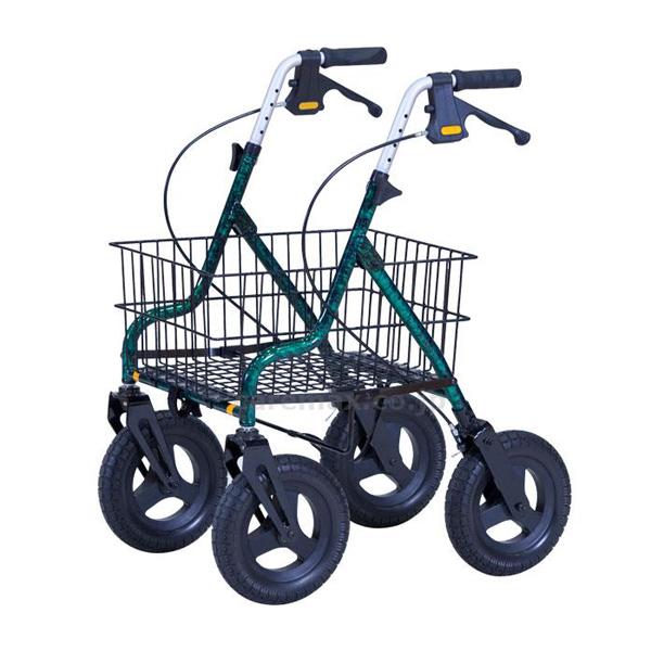 折りたたみ歩行車 セーフティーアーム ロレータキャリー ワイド 歩行器 介護用品 RSCW イーストアイ