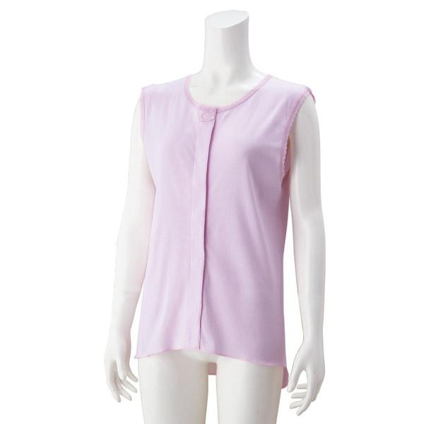肌にやさしい夏肌着 公式サイト 婦人ラン型ワンタッチシャツ ラベンダー 38284 当店は最高な サービスを提供します