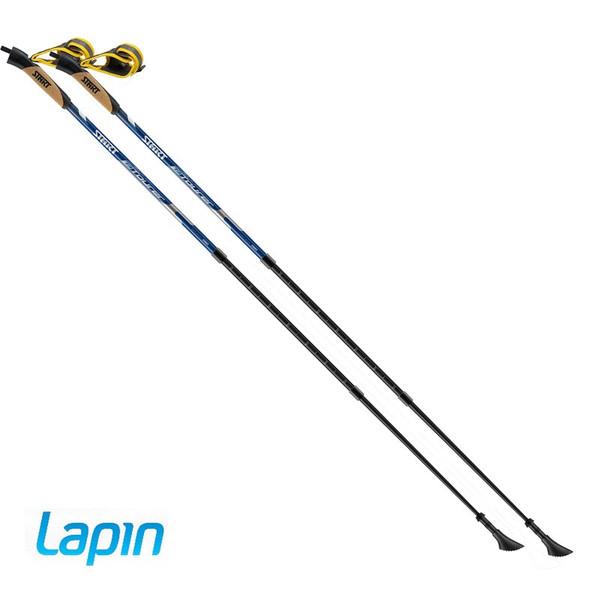Lapin ラピン T3 フィットクリックPRO 3段伸縮タイプ ノルディックウォーキングポール 左右1セット