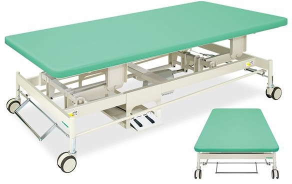 Takada Bed Electric Kaiser Home TB 1006 02 Chiropractic Bed Massage Bed  Treatment Units Osteopathic Hospital Treatment Hospital Rehabilitation  Training ...