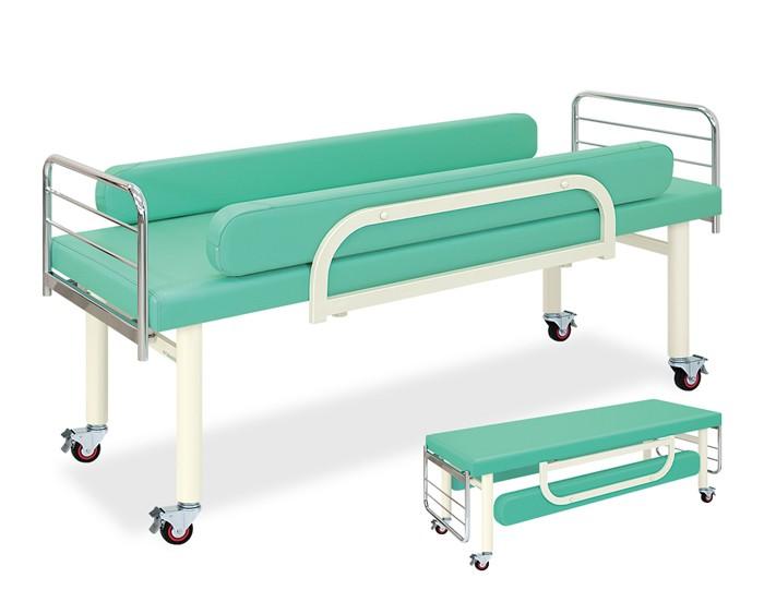 ポイント3倍 業務用ベッド TB-1021 DXベッドレザーカラーは18色対応 LFGキャスタ TB-1021 整体ベッド マッサージベッド 【高田ベッド】