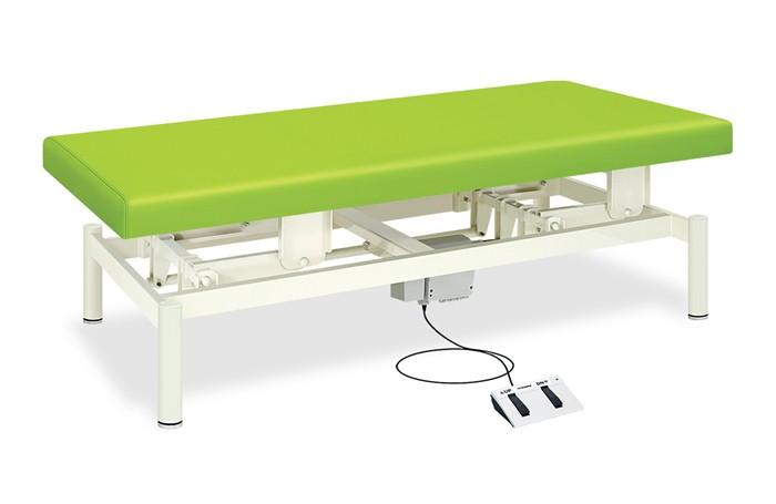 ポイント3倍 業務用ベッド TB-1022U 電動昇降台レザーカラーは18色対応 有孔電動ワイドベッド TB-1022U 整体ベッド マッサージベッド 【高田ベッド】