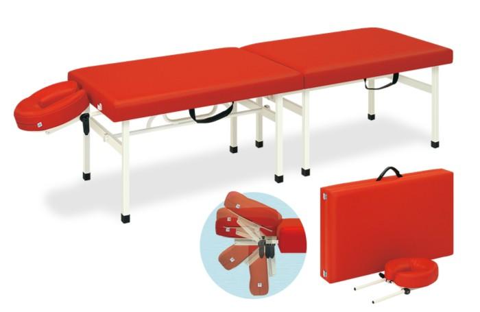 業務用ベッド TB-1038U ポータブルシリーズレザーカラーは18色対応 有孔クレードルオリコ TB-1038U 整体ベッド マッサージベッド 【高田ベッド】
