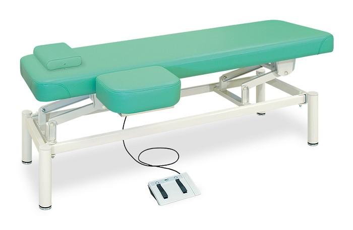 高田ベッド 有孔上肢台付電動フットワークベッド TB-1101U 整体ベッド マッサージベッド 施術台 整骨院 治療院 リハビリ 訓練台