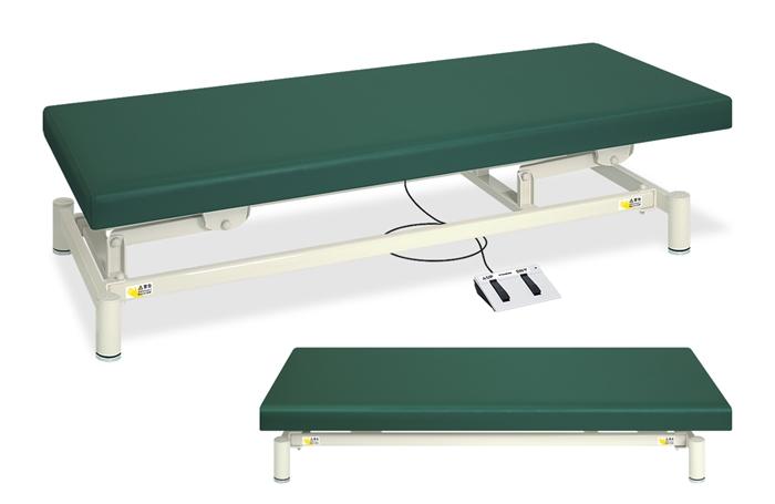 ポイント3倍 業務用ベッド TB-1151U 電動昇降台レザーカラーは18色対応 有孔低床電動ハイロー TB-1151U 整体ベッド マッサージベッド 【高田ベッド】