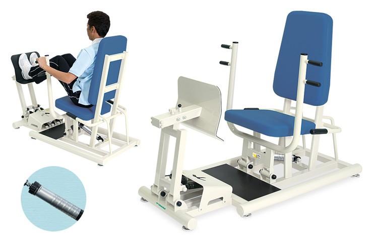 トレーニングベッド 訓練台 リハビリ 運動療法 チェスト&レッグDXII TB-1214 【高田ベッド】