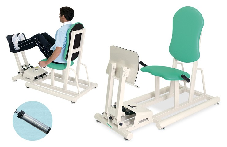 トレーニングベッド 訓練台 リハビリ 運動療法 レッグプレスII TB-1215 【高田ベッド】