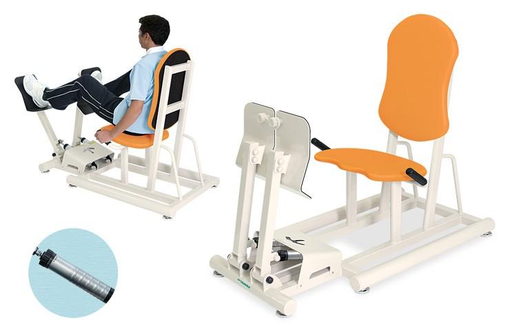 高田ベッド トレーニングベッド 訓練台 リハビリ 運動療法 レッグプレスII 分離式 TB-1216