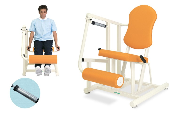 トレーニングベッド 訓練台 リハビリ 運動療法 レッグエクステンションII TB-1218 【高田ベッド】