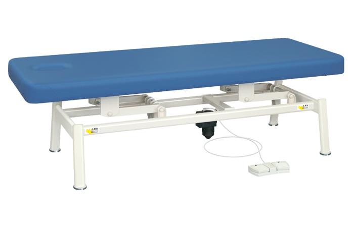 ポイント3倍 業務用ベッド TB-1321 電動昇降台 レザーカラーは18色対応 TB-1321U 有孔電動LSベッド 整体ベッド マッサージベッド 施術台 整骨院 治療院 【高田ベッド】