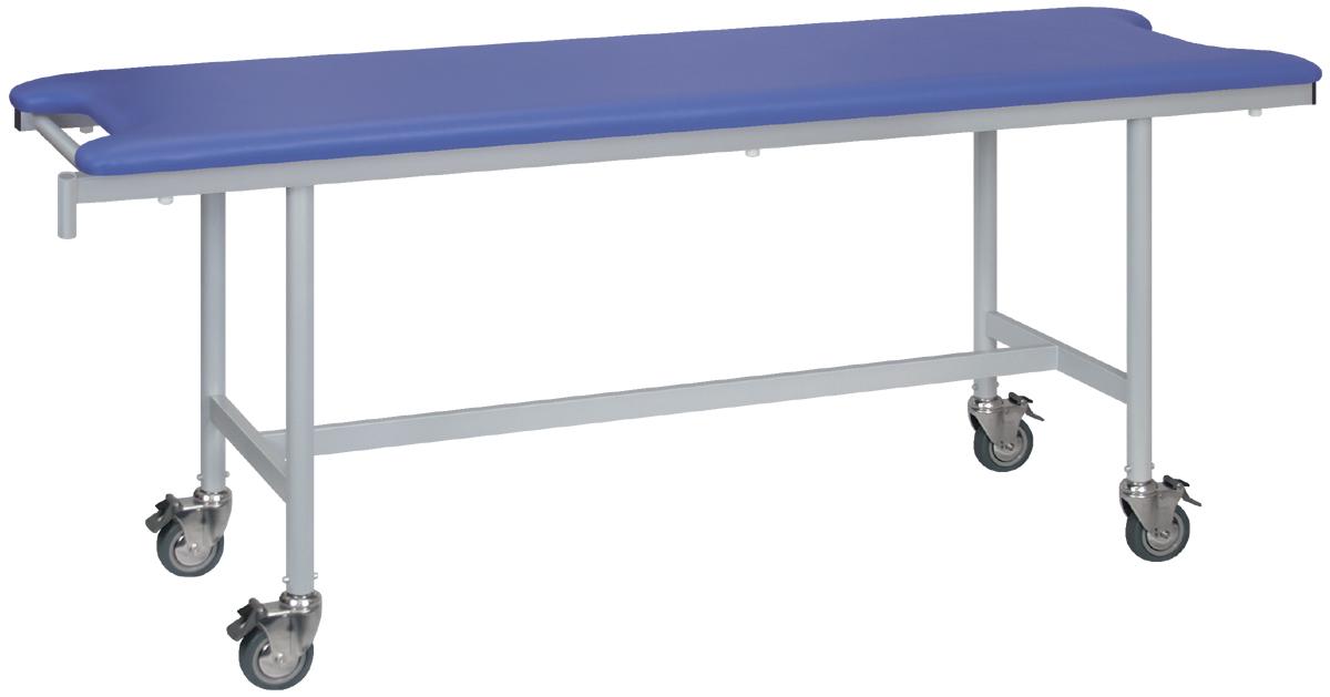 ポイント3倍 業務用ベッド TB-1348 メディカルレザーカラーは18色対応 病院 医院 TB-1348 アルミストレッチャー100 【高田ベッド】