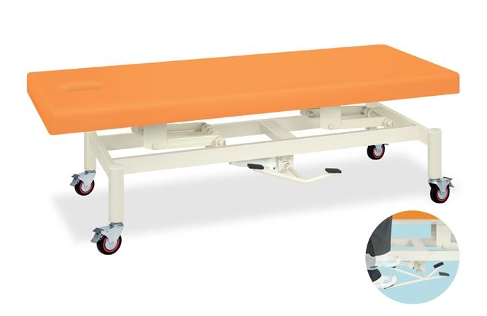 高田ベッド TB-1350 キャスター付き油圧式昇降ベッド 整体ベッド マッサージベッド 施術台 整骨院 治療院