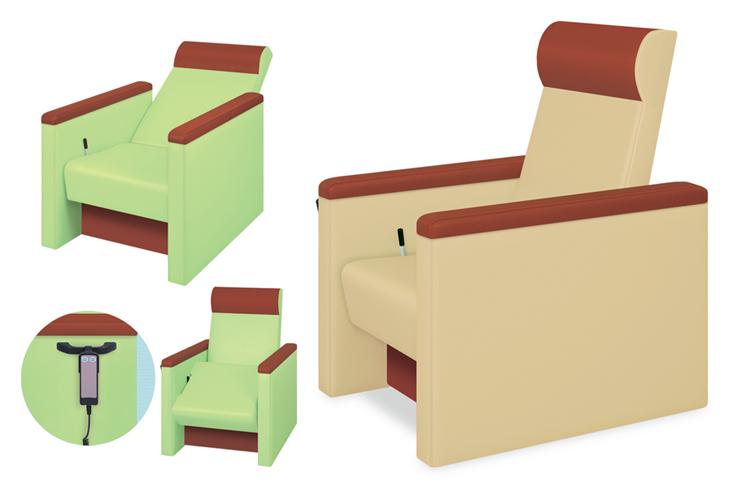高田ベッド 電動起立補助らくチェアー TB-1399 リクライニングチェアー 立ち上がり補助椅子