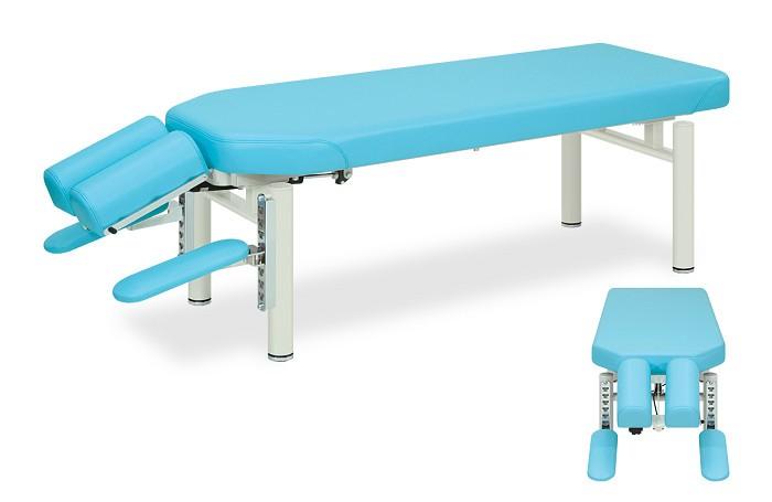 高田ベッド イージープロ TB-208 整体ベッド マッサージベッド 施術台 整骨院 治療院 うつ伏せ 手置台付き