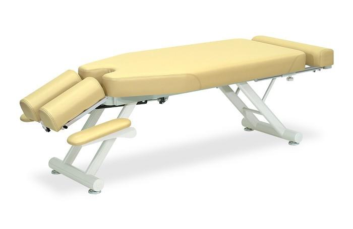 高田ベッド マレット TB-316 整体ベッド マッサージベッド 施術台 整骨院 治療院 うつ伏せ 手置台付き フットレスト付き