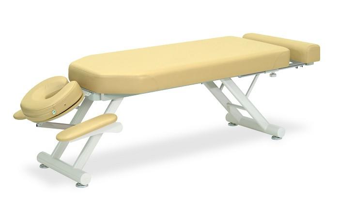 高田ベッド ルック TB-363 整体ベッド マッサージベッド 施術台 整骨院 治療院 うつ伏せ 手置台付き フットレスト付き