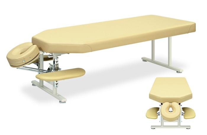 高田ベッド グローラ TB-378 整体ベッド マッサージベッド 施術台 整骨院 治療院 うつ伏せ 手置台付き