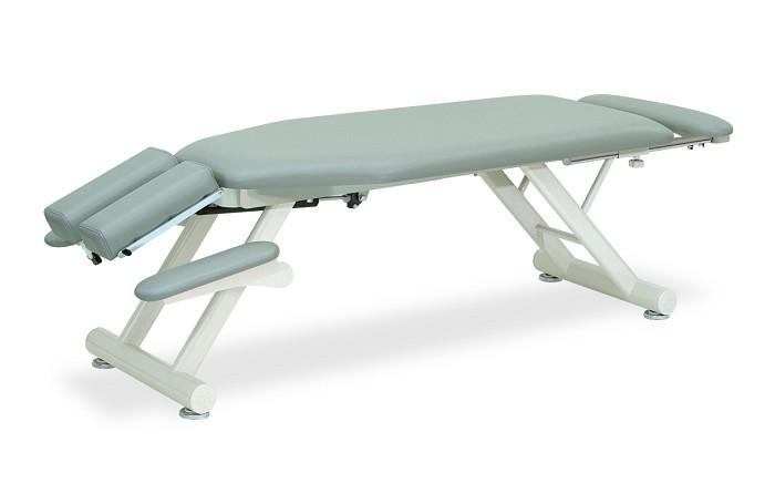 高田ベッド GSステーショナリーテーブル TB-593 うつ伏せ 手置台付き フットレスト付き
