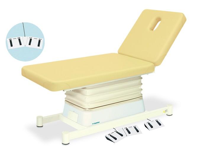 高田ベッド 有孔垂直電動2Eタイプ TB-868U 整体ベッド マッサージベッド 施術台 整骨院 治療院