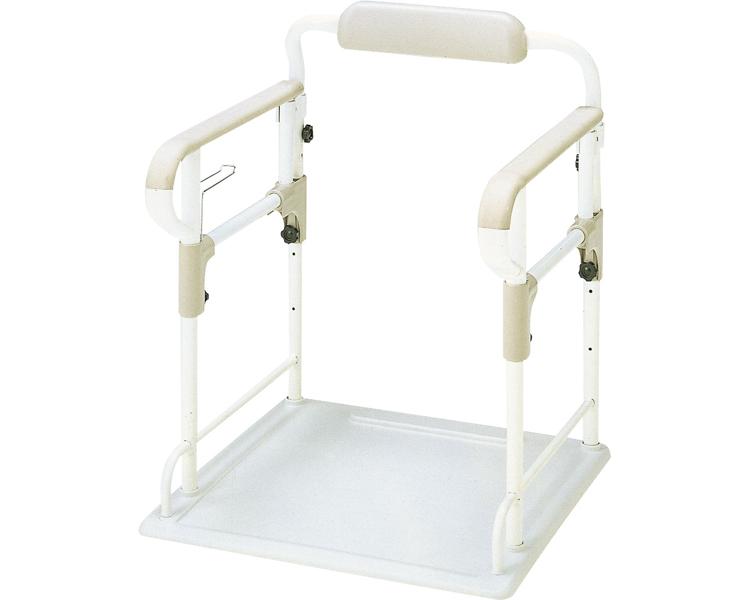 ポータブルトイレ用フレームささえ 533-070 トイレ用手すり 介護用品