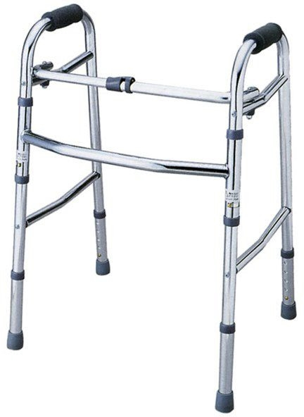 介護 歩行器 折り畳み歩行器 赤井 hkz リハビリ 歩行補助 高齢者用