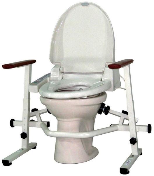 介護用品 洋式トイレ手すり といれって 肘掛跳ね上げ式 TH-W