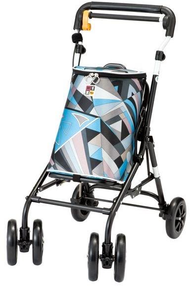 ウィズワン シャオ ブラックフレーム Xiao 象印ベビー シルバーカー 介護用品