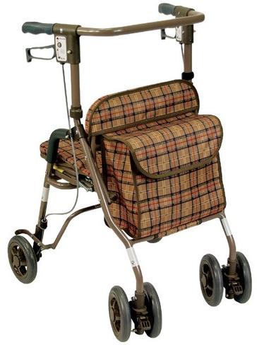 歩行器 歩行車 シンフォニーSP 屋外用歩行器 室外用 島製作所 介護用品