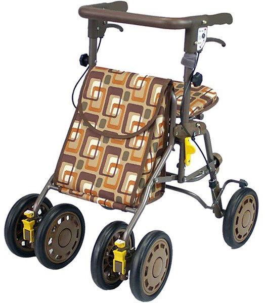 歩行器 歩行車 シンフォニーライト 屋外用歩行器 屋外用 島製作所 シルバーカー 介護用品