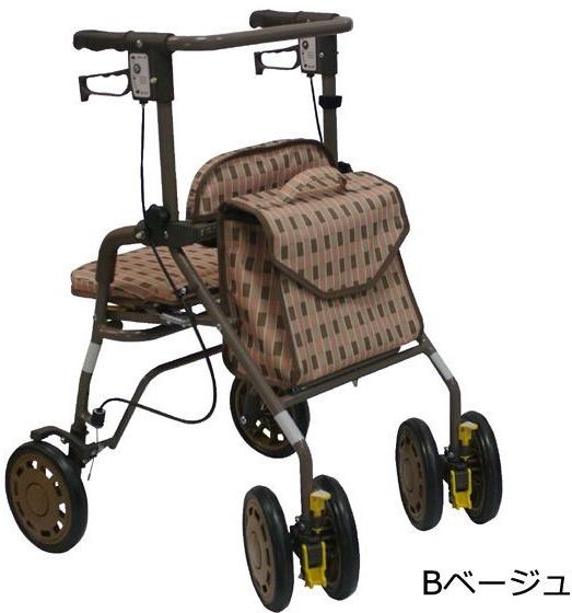 シンフォニー EVO 島製作所 シルバーカー 介護用品 歩行車
