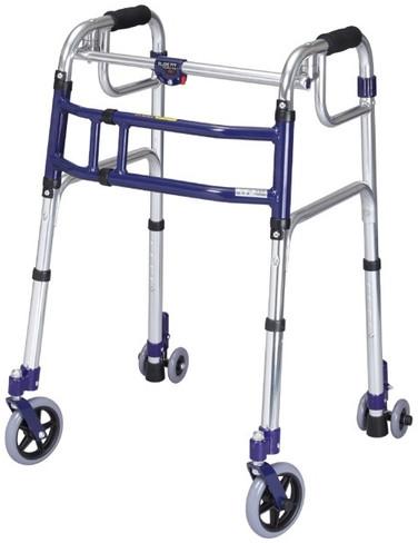 歩行器 スライドフィット ハイタイプ H-0195C 5インチキャスター hkz