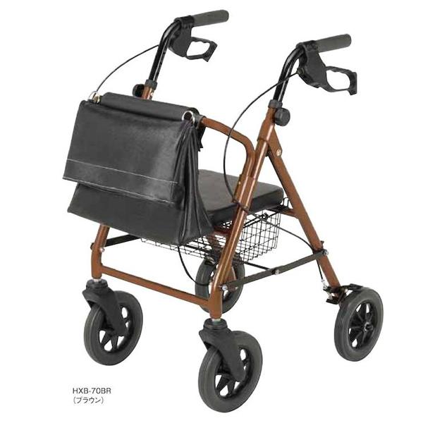 歩行車 歩行丸 バッグ付き マキライフテック 歩行器 リハビリ 歩行補助 介護