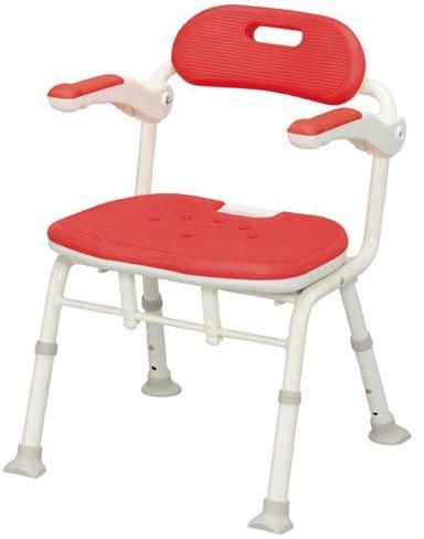 シャワーチェア 介護用品 風呂椅子 折りたたみ ISフィットシャワーチェア アロン化成