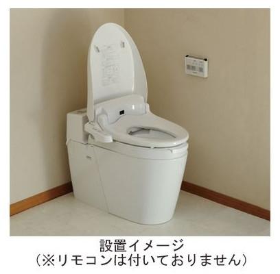 温水洗浄便座付き補高便座 リモコンなし 高さ3cm PN-L52001 介護用品