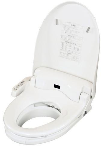 温水洗浄便座付き補高便座 リモコン付き 高さ5cm PN-L52012 介護用品
