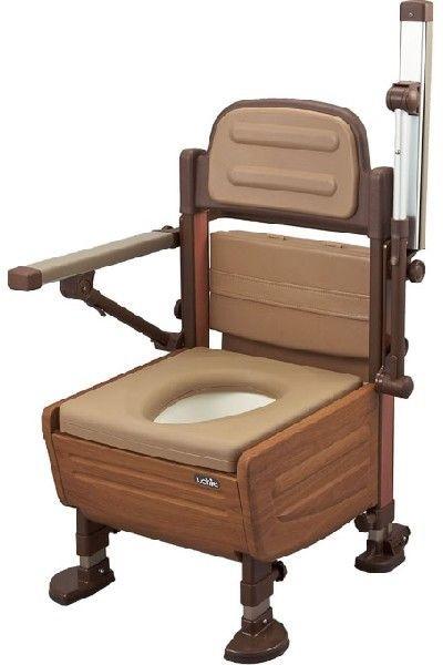 ポータブルトイレ あらえ~る 標準タイプ 8020 ウチヱ 排泄介護 介護用品