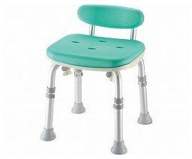 シャワーチェア ベンチシャワー 介護用 風呂椅子 やわらかシャワーチェア 背付ミニL型 49721 49726 リッチェル