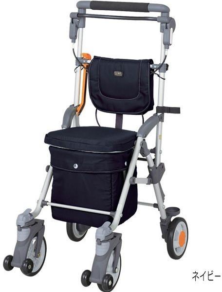 キャリースルーン ボックスHi 保冷機能付 シルバーカー CBH-30 マキライフテック 介護用品
