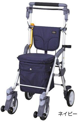 コンパクトなのに大型バッグ付き 高機能 シルバーカーキャリー スルーンBOX N 介護用品