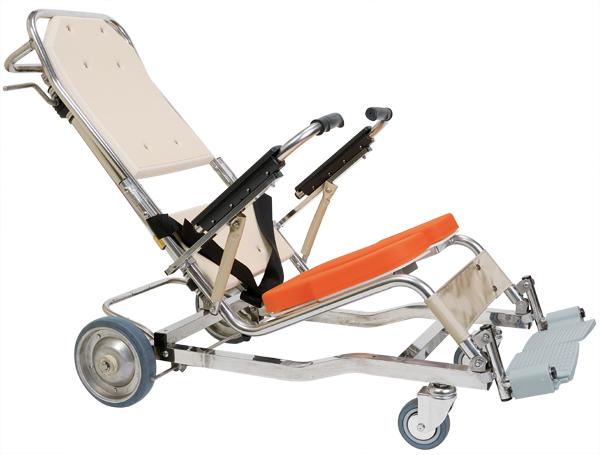無段階リクライニング シャワーキャリー AL8 No.5900 入浴用車椅子 介護用