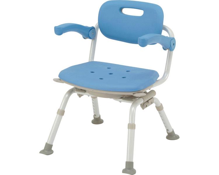 シャワーチェア 介護用品 風呂椅子[ユクリア]ミドルSP回転おりたたみN / PN-L41221