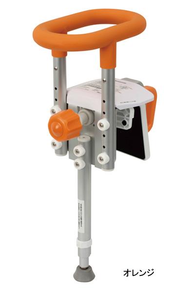 浴槽手すり 入浴グリップ ユクリア 130 ユニットバス専用 コンパクト 脚付 PN-L12311 パナソニック電工ライフテック 介護用品